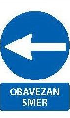 Znak Obavezan smer