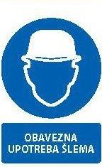 Znak Obavezna upotreba šlema