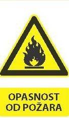 Znak Opasnosti Od Požara