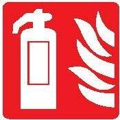 Protivpožarni Znak za pp aparat sa plamenom