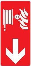 Protivpožarni Znak za hidrant sa strelicom