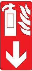 Protivpožarni Znak za pp aparat sa strelicom
