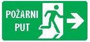 Znak Evakuacioni izlaz