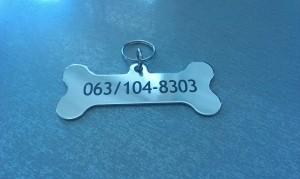 Privezak za ogrlicu za pse i mačke